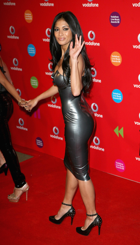 Nicole Scherzinger Skin Tight Dress  Sexy Women-6919