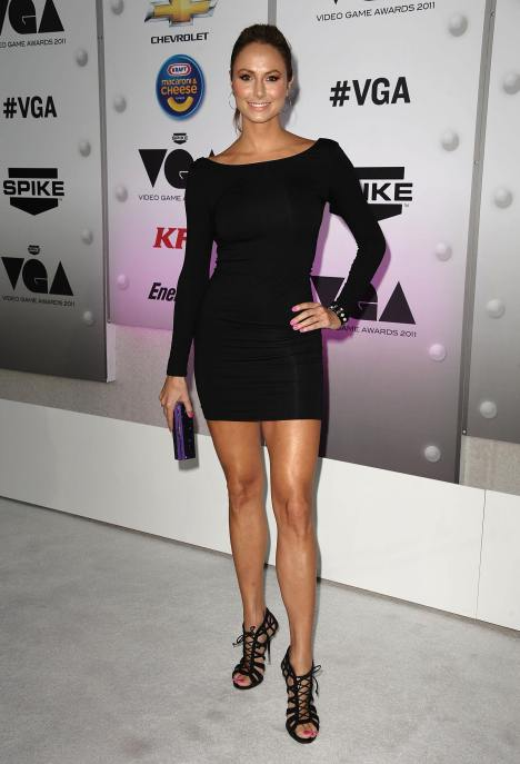 Stacy Keibler @ Spike TV's Video Game Awards04