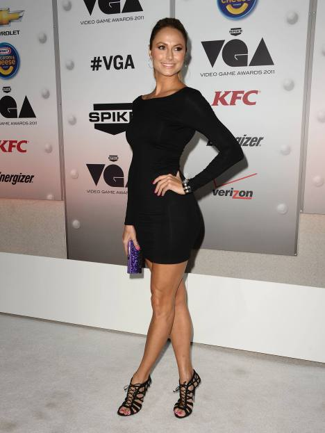 Stacy Keibler @ Spike TV's Video Game Awards05